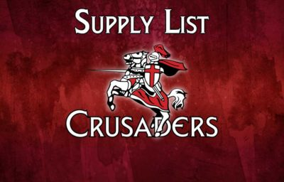 2019 – 2020 Supply List